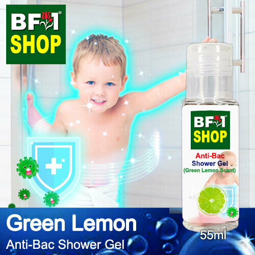 Anti-Bac Shower Gel (ABSG) - Lemon - Green Lemon - 55ml