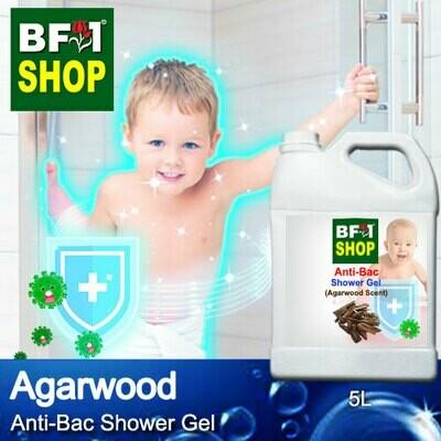 Anti-Bac Shower Gel (ABSG) - Agarwood - 5L