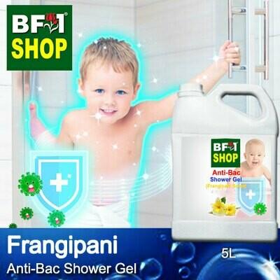 Anti-Bac Shower Gel (ABSG) - Frangipani - 5L