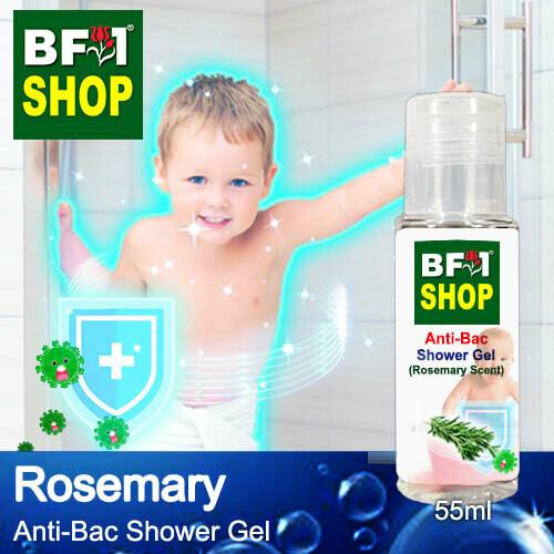 Anti-Bac Shower Gel (ABSG) - Rosemary - 55ml
