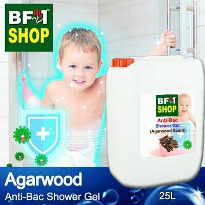 Anti-Bac Shower Gel (ABSG) - Agarwood - 25L