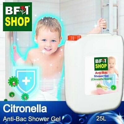 Anti-Bac Shower Gel (ABSG) - Citronella - 25L