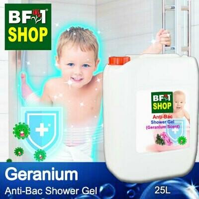 Anti-Bac Shower Gel (ABSG) - Geranium - 25L