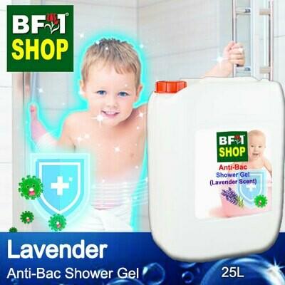 Anti-Bac Shower Gel (ABSG) - Lavender - 25L