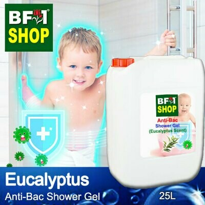 Anti-Bac Shower Gel (ABSG) - Eucalyptus - 25L