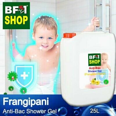Anti-Bac Shower Gel (ABSG) - Frangipani - 25L