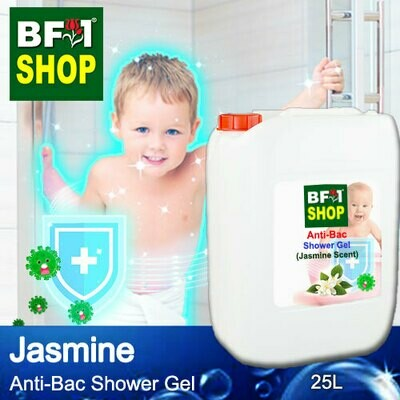 Anti-Bac Shower Gel (ABSG) - Jasmine - 25L