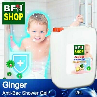 Anti-Bac Shower Gel (ABSG) - Ginger - 25L
