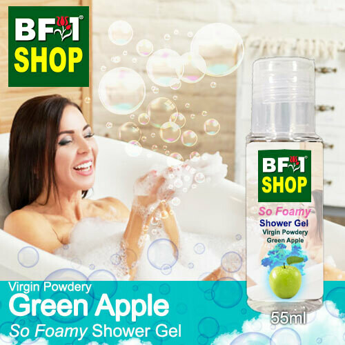 So Foamy Shower Gel (SFSG) - Virgin Powdery Apple - Green Apple - 55ml