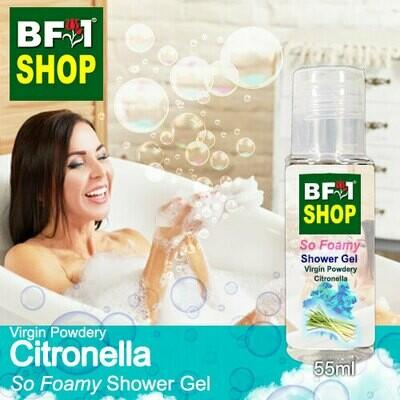 So Foamy Shower Gel (SFSG) - Virgin Powdery Citronella - 55ml