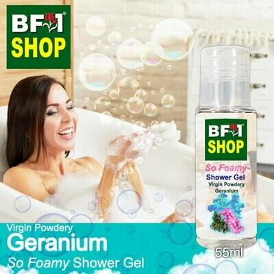So Foamy Shower Gel (SFSG) - Virgin Powdery Geranium - 55ml