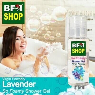So Foamy Shower Gel (SFSG) - Virgin Powdery Lavender - 55ml
