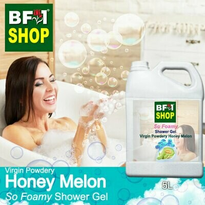 So Foamy Shower Gel (SFSG) - Virgin Powdery Honey Melon - 5L