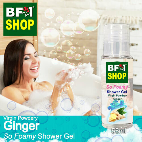So Foamy Shower Gel (SFSG) - Virgin Powdery Ginger - 55ml