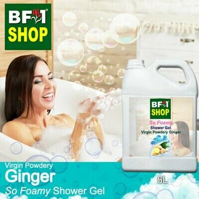 So Foamy Shower Gel (SFSG) - Virgin Powdery Ginger - 5L