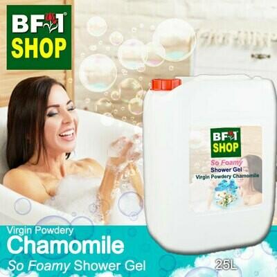 So Foamy Shower Gel (SFSG) - Virgin Powdery Chamomile - 25L