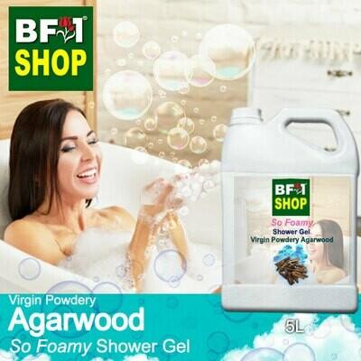 So Foamy Shower Gel (SFSG) - Virgin Powdery Agarwood - 5L