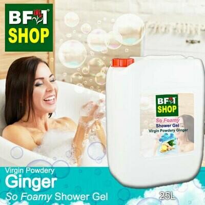 So Foamy Shower Gel (SFSG) - Virgin Powdery Ginger - 25L