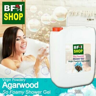 So Foamy Shower Gel (SFSG) - Virgin Powdery Agarwood - 25L