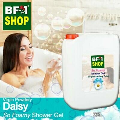 So Foamy Shower Gel (SFSG) - Virgin Powdery Daisy - 25L