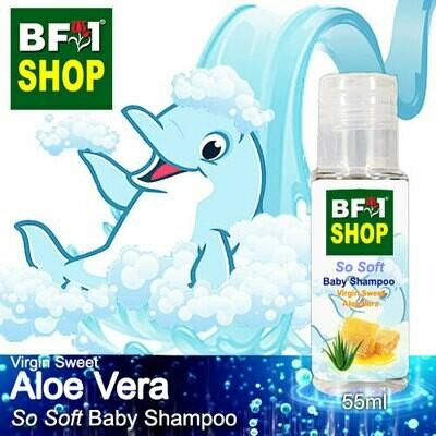 So Soft Baby Shampoo (SSBS1) - Virgin Sweet Aloe Vera - 55ml