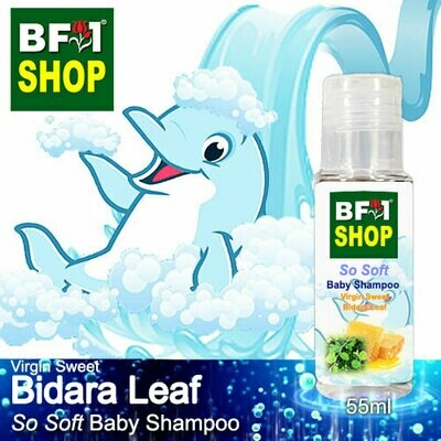 So Soft Baby Shampoo (SSBS1) - Virgin Sweet Bidara - 55ml