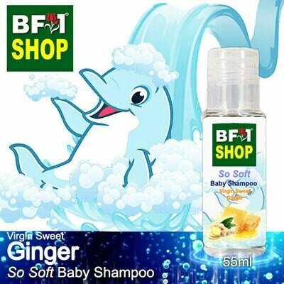 So Soft Baby Shampoo (SSBS1) - Virgin Sweet Ginger - 55ml