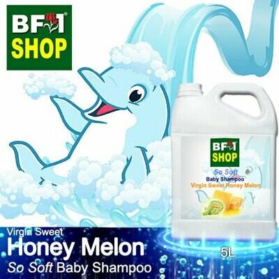 So Soft Baby Shampoo (SSBS1) - Virgin Sweet Honey Melon - 5L
