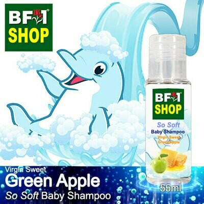 So Soft Baby Shampoo (SSBS1) - Virgin Sweet Apple - Green Apple - 55ml