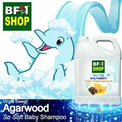 So Soft Baby Shampoo (SSBS1) - Virgin Sweet Agarwood - 5L