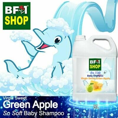 So Soft Baby Shampoo (SSBS1) - Virgin Sweet Apple - Green Apple - 5L