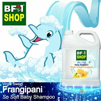 So Soft Baby Shampoo (SSBS1) - Virgin Sweet Frangipani - 5L