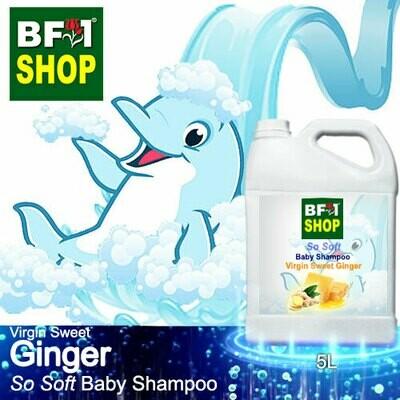 So Soft Baby Shampoo (SSBS1) - Virgin Sweet Ginger - 5L