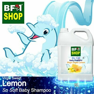 So Soft Baby Shampoo (SSBS1) - Virgin Sweet Lemon - 5L