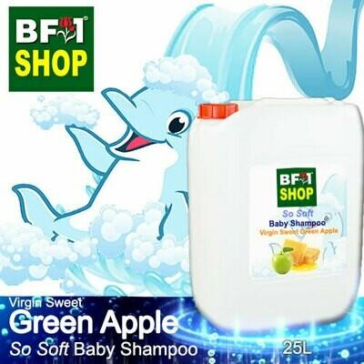 So Soft Baby Shampoo (SSBS1) - Virgin Sweet Apple - Green Apple - 25L