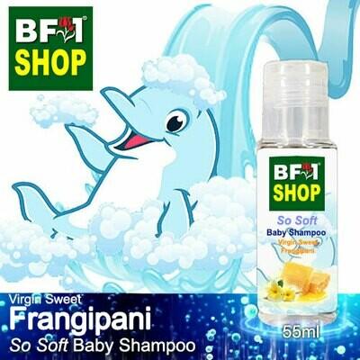 So Soft Baby Shampoo (SSBS1) - Virgin Sweet Frangipani - 55ml