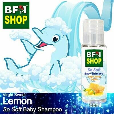So Soft Baby Shampoo (SSBS1) - Virgin Sweet Lemon - 55ml