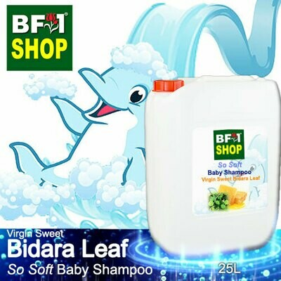 So Soft Baby Shampoo (SSBS1) - Virgin Sweet Bidara - 25L