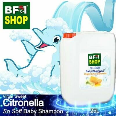 So Soft Baby Shampoo (SSBS1) - Virgin Sweet Citronella - 25L