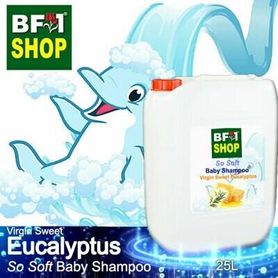 So Soft Baby Shampoo (SSBS1) - Virgin Sweet Eucalyptus - 25L