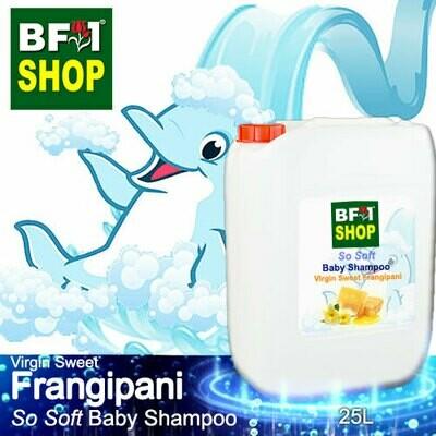 So Soft Baby Shampoo (SSBS1) - Virgin Sweet Frangipani - 25L