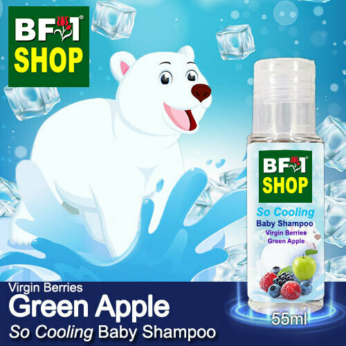 So Cooling Baby Shampoo (SCBS) - Virgin Berries Apple - Green Apple - 55ml