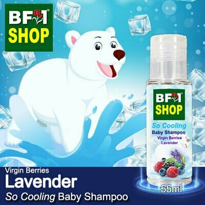 So Cooling Baby Shampoo (SCBS) - Virgin Berries Lavender - 55ml