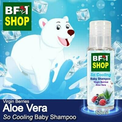 So Cooling Baby Shampoo (SCBS) - Virgin Berries Aloe Vera - 55ml