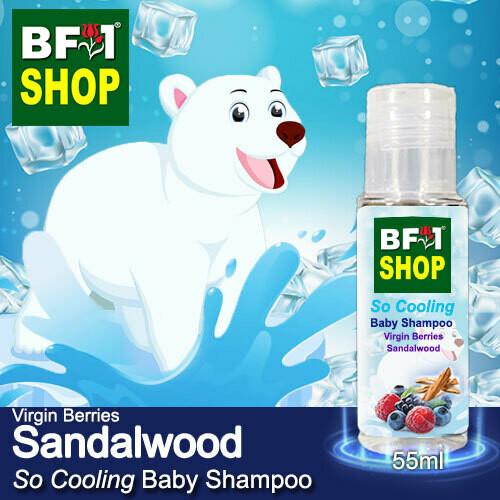 So Cooling Baby Shampoo (SCBS) - Virgin Berries Sandalwood - 55ml