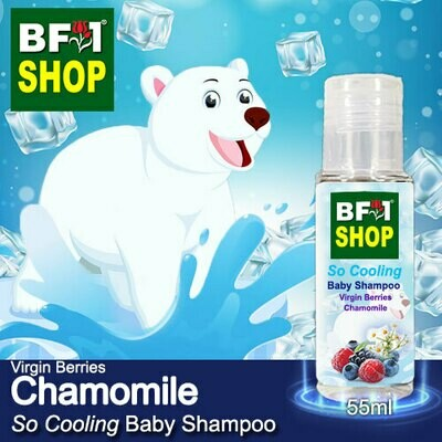 So Cooling Baby Shampoo (SCBS) - Virgin Berries Chamomile - 55ml