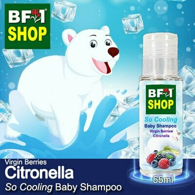 So Cooling Baby Shampoo (SCBS) - Virgin Berries Citronella - 55ml