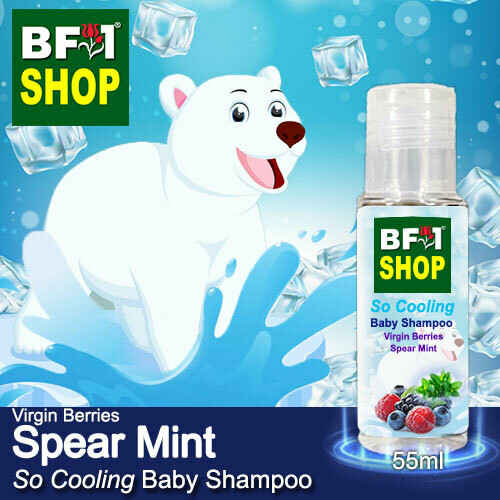 So Cooling Baby Shampoo (SCBS) - Virgin Berries mint - Spear Mint - 55ml