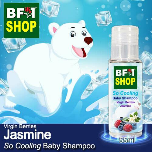 So Cooling Baby Shampoo (SCBS) - Virgin Berries Jasmine - 55ml