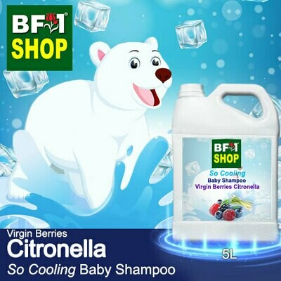 So Cooling Baby Shampoo (SCBS) - Virgin Berries Citronella - 5L